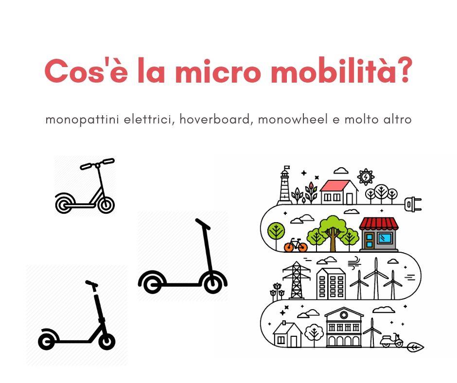 cos'è la micro mobilità infografica