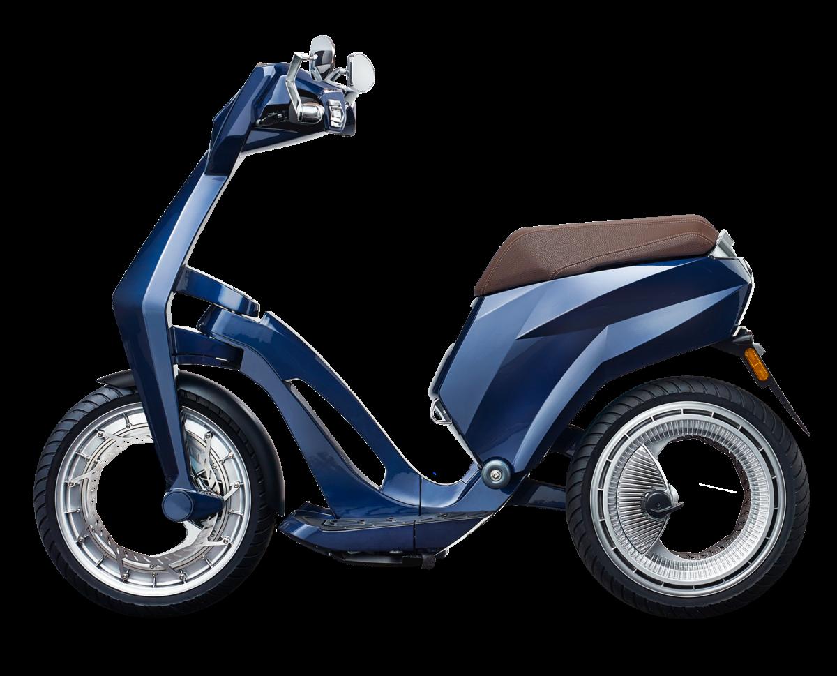 scooter elettrico pieghevole e portatile