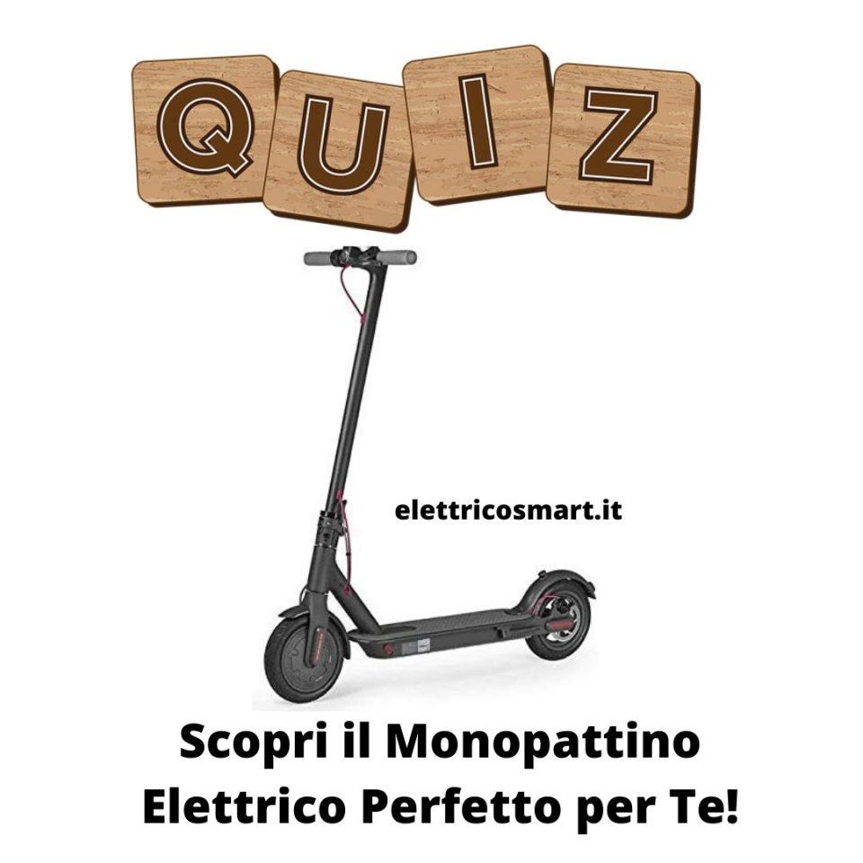 test quiz scopri monopattino elettrico perfetto per te