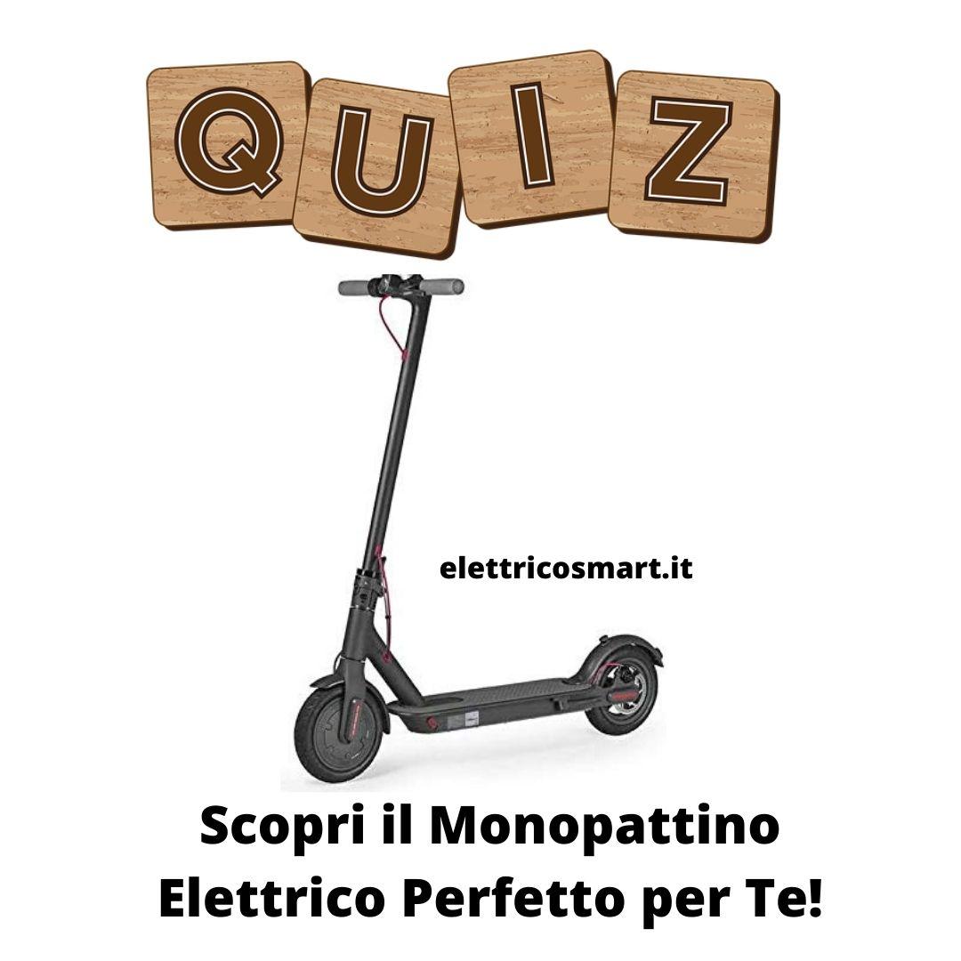 La Mia Città Ideale Test quiz: 8 domande per scoprire il monopattino elettrico
