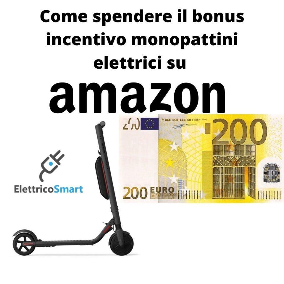 come richiedere il bonus monopattini elettrici 2020 maggio fase 2 e Come Usare il Bonus Monopattini Elettrici su Amazon