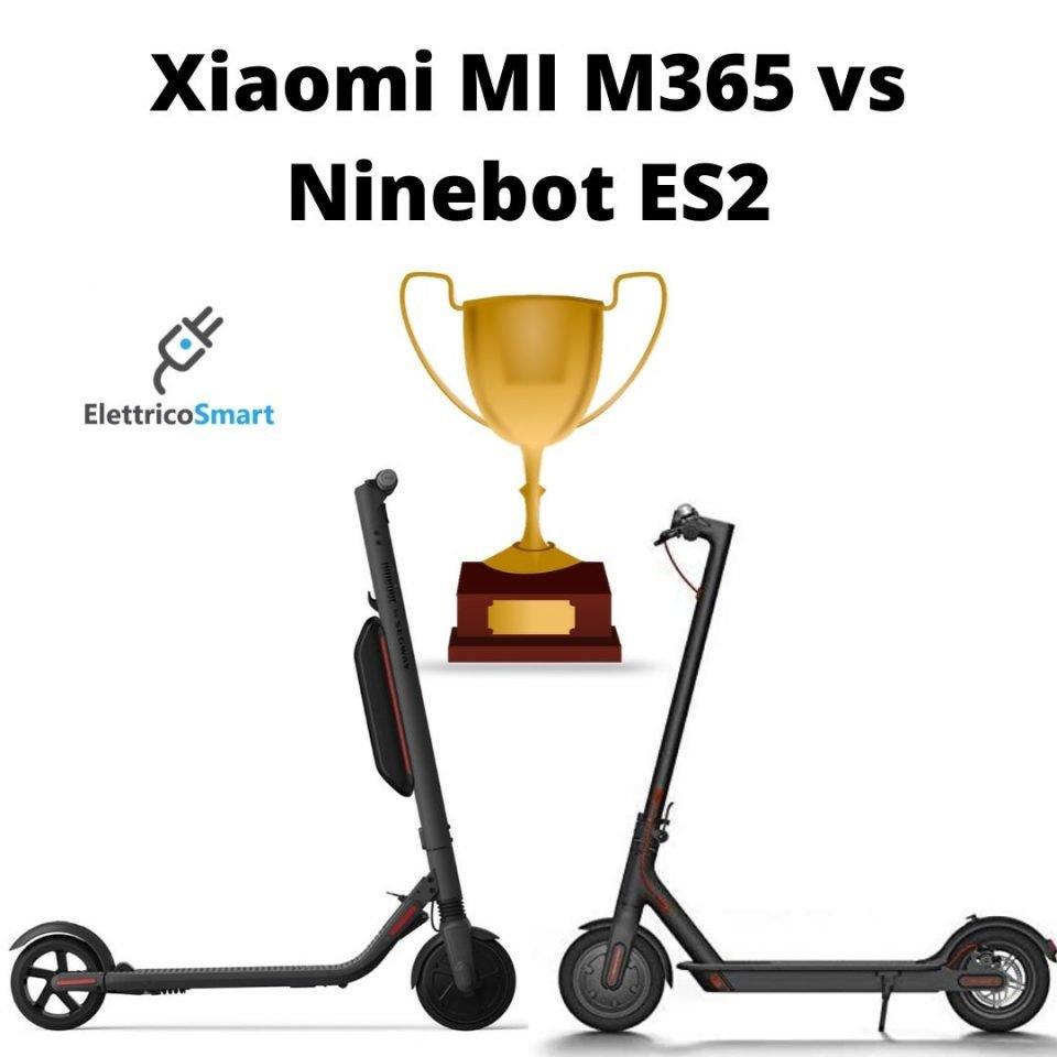Confronto Ninebot ES2 contro Xiaomi M365