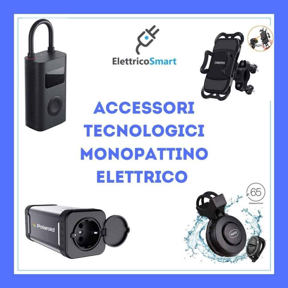 I Miei Accessori Tecnologici per Monopattino Elettrico