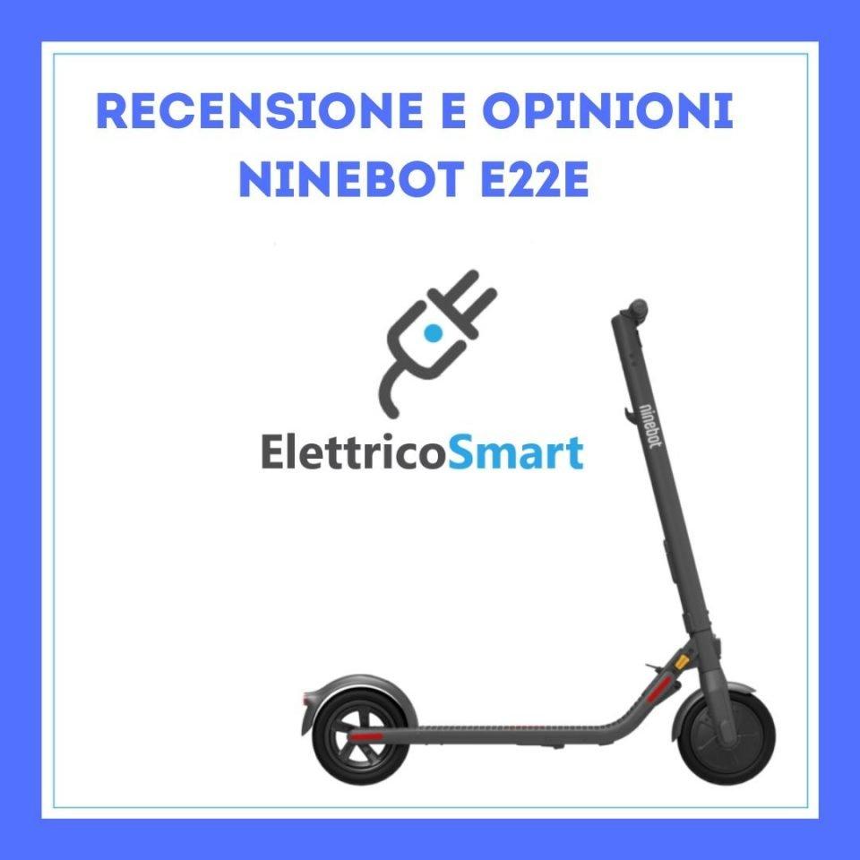 recensione Ninebot E22E foto titolo copertina