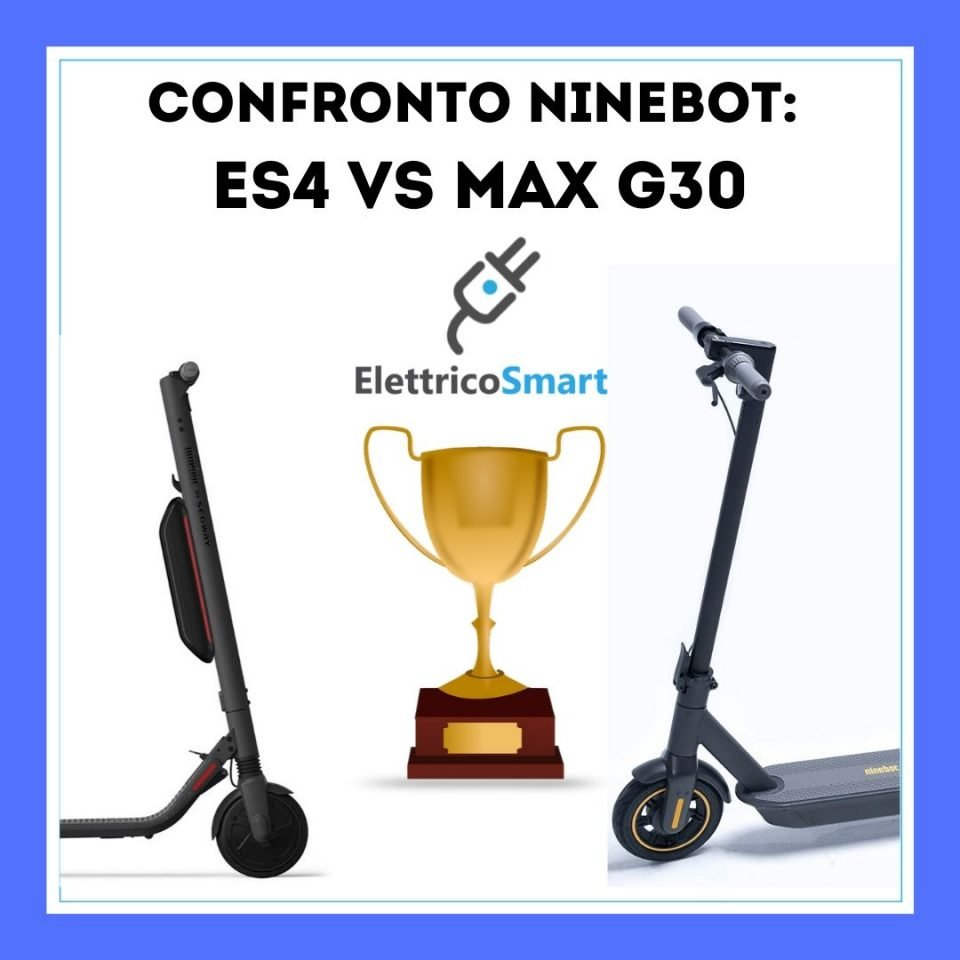 confronto ninebot es4 contro ninebot max g30