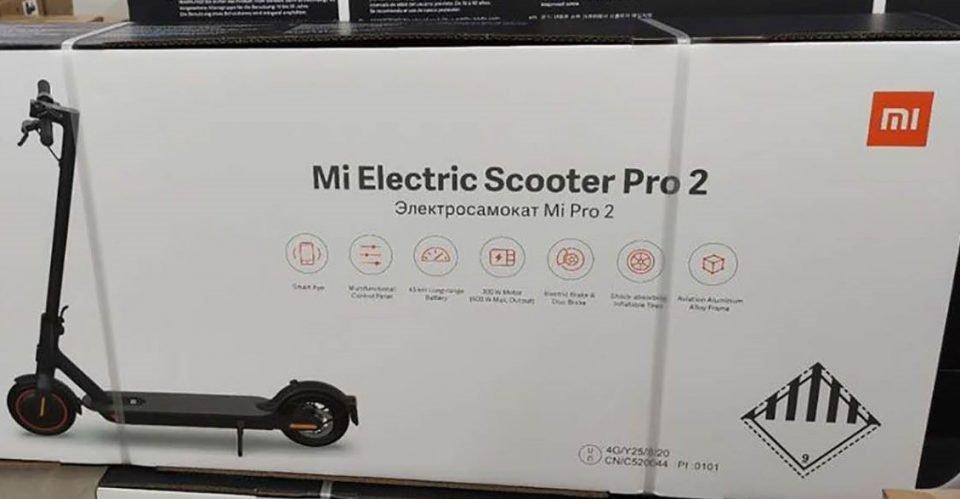 Xiaomi Mi Scooter Pro 2 monopattino elettrico presentazione e prezzo