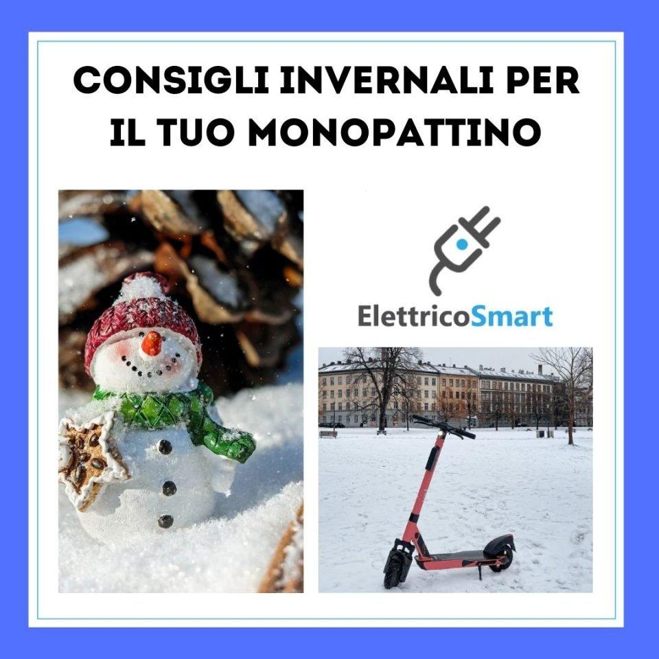 Consigli Invernali per il tuo Monopattino Elettrico come conservare al meglio il monopattino elettrico