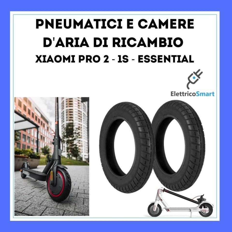 Ricambi Camera d'aria e Pneumatici per Xiaomi PRO 2 ,  Xiaomi 1S e essential copertina elettricosmart