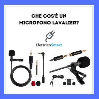 Che cos'è un Microfono Lavalier? copertina elettricosmart