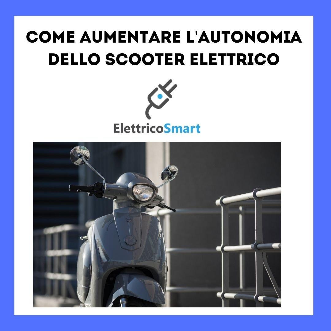 come aumentare l'autonomia dello scooter elettrico copertina elettricosmart