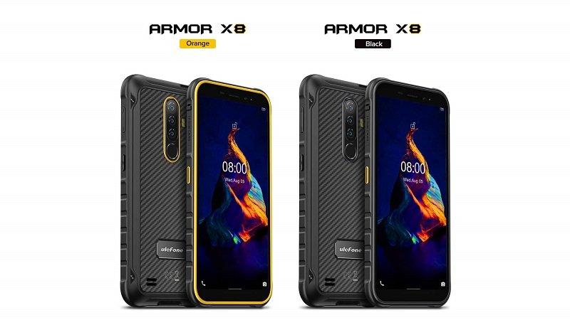 foto opinioni ulefone x8 armor in due colorazioni sconto