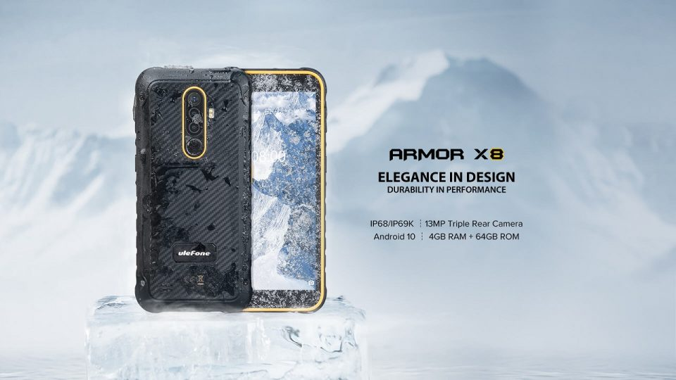 recensione ulefone x8 armor rugged antiurto
