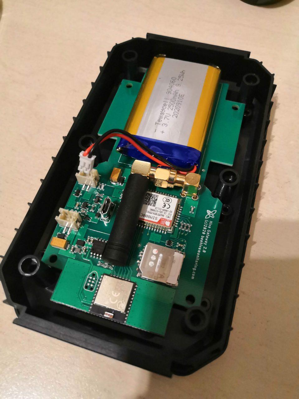 controller gsm gateway aperto con sim