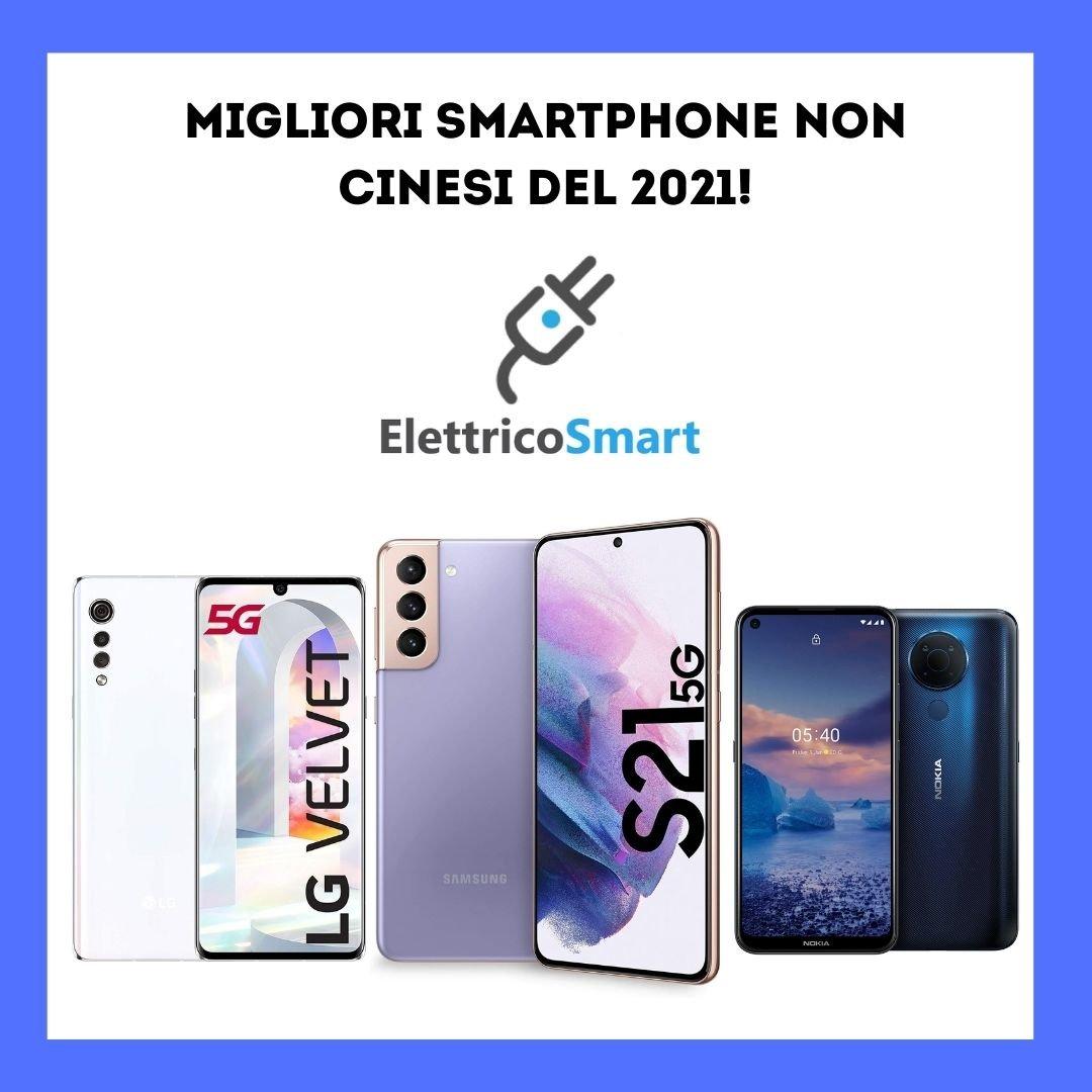 copertina migliori smartphone non cinesi del 2021
