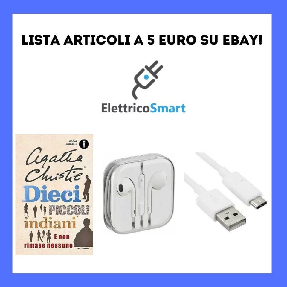 copertina articoli a 5 euro ebay con coupon